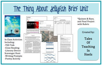 The Thing About Jellyfish Novel Study/Unit