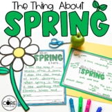 The Thing About Spring: Interactive Read-Aloud Lesson Plan