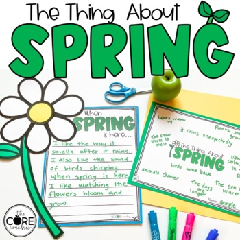 The Thing About Spring: Interactive Read-Aloud Lesson Plans and Activities