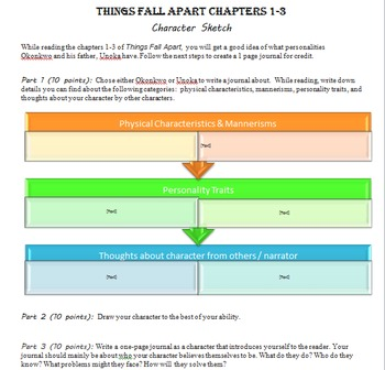 The Things Fall Apart Intro Writing Assignment