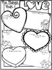 The Things That I LOVE - A Valentine's Day Poster 8.5 x 11 inch