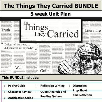 The Things They Carried Unit Bundle