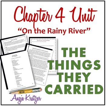 """The Things They Carried Chapter 4 Unit {""""On the Rainy River""""}"""