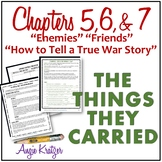 The Things They Carried Chapters 5, 6, and 7 Unit