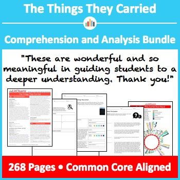 The Things They Carried – Comprehension and Analysis Bundle