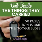 The Things They Carried Complete Unit BUNDLE {Distance Learning}
