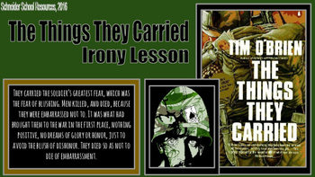 The Things They Carried: Irony Lesson
