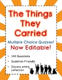 The Things They Carried Tests - Multi-Choice Quizzes - 140