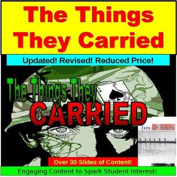 The Things They Carried Lesson: Powerpoint Introduction