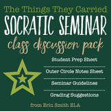 The Things They Carried Socratic Seminar Class Discussion Pack