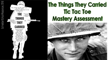 The Things They Carried: Tic Tac Toe Mastery Assessment