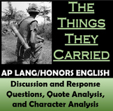 The Things They Carried for AP Language and Composition (AP Lang)
