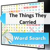 The Things They Carried word search puzzle