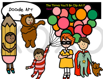 The Things You'll Be Clip Art Pack