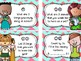 The Third Day of 3rd Grade - Task Cards