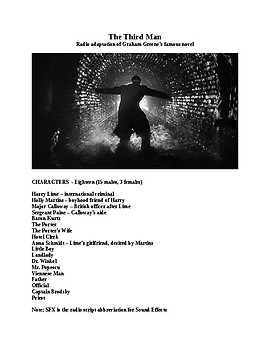 The Third Man Mp3 and Script