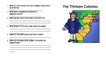 The Thirteen Colonies Mini-Book