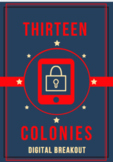 The Thirteen Colonies Digital Breakout / Escape Room