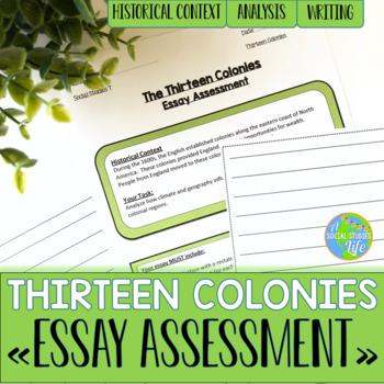 Thirteen Colonies Essay