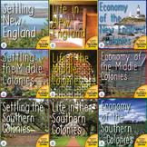 The Thirteen Colonies US History Unit Mega Bundle