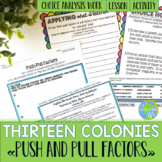 Thirteen Colonies Push and Pull Factors