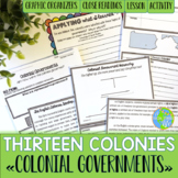 Thirteen Colonies - Charter, Proprietary, and Royal Colonies
