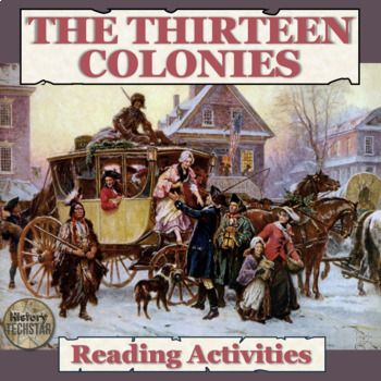 The Thirteen Colonies Reading Activities