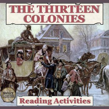 The Thirteen Colonies Reading Activities