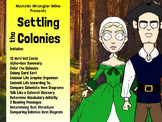 The Thirteen Colonies: Reading Passages and Activities