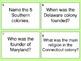 The Thirteen Colonies Task Cards by KMediaFun