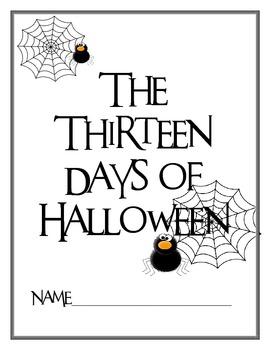 The Thirteen Days of Halloween