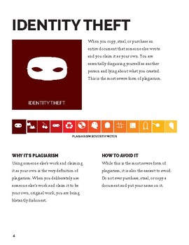 The Thirteen Types of Plagiarism - Handout & Study Guide