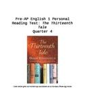 The Thirteenth Tale Reading Test