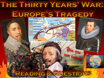The Thirty Years' War: Europe's Tragedy (Reading & Questions)