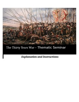 Socratic Seminar - The Thirty Years War - Common Core Aligned