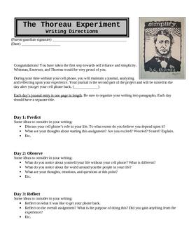 The Thoreau Experiment