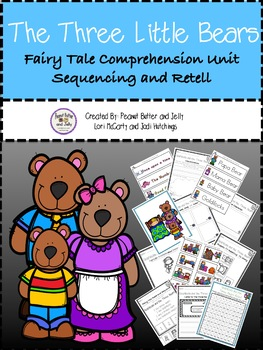The Three Bears - A Fairy Tale Comprehension Unit - Jabber the Reteller