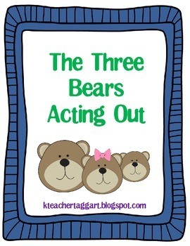 The Three Bears Acting Out