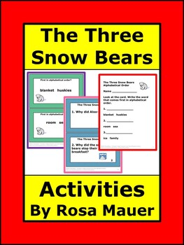 Three Snow Bears Book Study