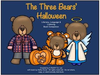 The Three Bears' Halloween:  Literacy, Language and Listening Book Companion