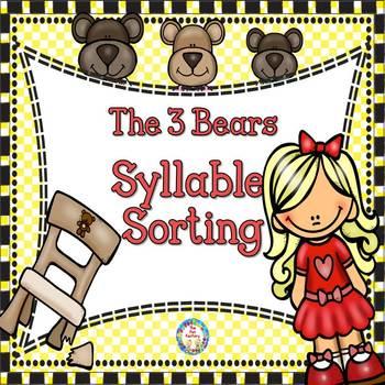 Syllables - The Three Bears