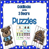 The Three Bears Puzzles - Skip Counting by 2, 5, &10