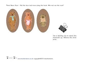 The Three Bears Race