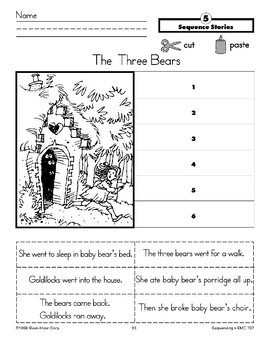 The Three Bears (Sequence Stories)