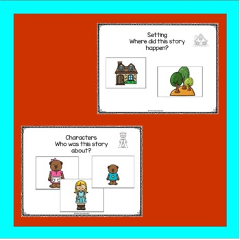 The Three Bears Sequencing, Characters and Setting Activities