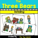 Retelling The Three Bears,  Characters and Setting Activities