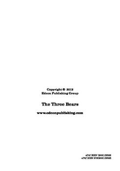 The Three Bears - Short Story
