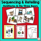Goldilocks and The Three Bears Sequencing, Characters and