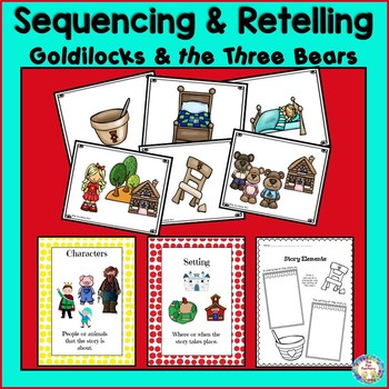 Goldilocks and The Three Bears Sequencing
