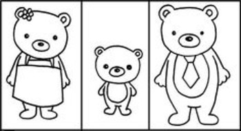 The Three Bears writing extension